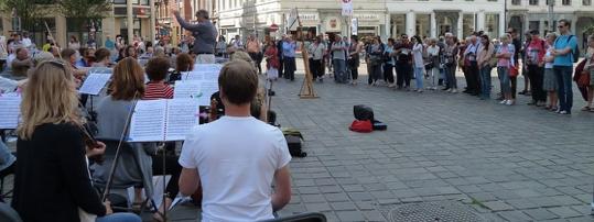 Buitenconcert als publiekstrekker in Gent